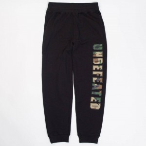 Undefeated Men Compact Sweatpants (black)