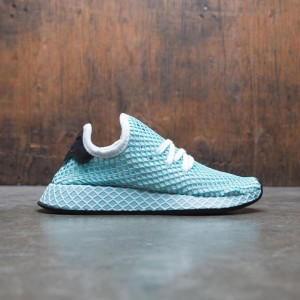 Adidas Women Deerupt Runner Parley W (white / footear white / blue spirit)