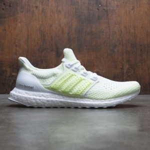 Adidas Men UltraBOOST CLIMA (white / footwear white / solar yellow)