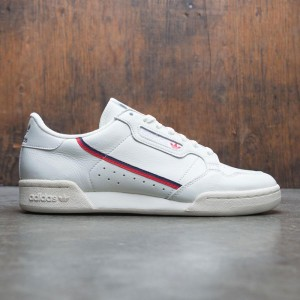 Adidas Men Continental 80 Rascal (white / white tint / off white /  scarlet)