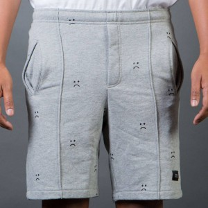 Lazy Oaf Men Sad Gray Shorts (gray)