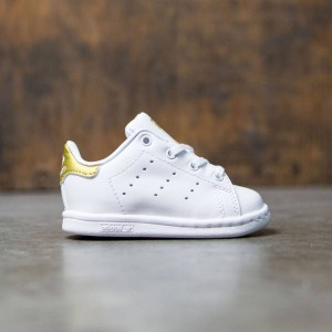 Adidas Toddlers Stan Smith I (white / gold metallic)