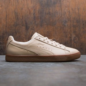 Puma x Naturel Men Clyde - Veg Tan (brown / natural vachetta)