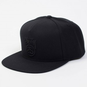 Stussy Stock Lock Fall 2017 Cap (black)