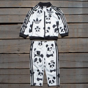 Adidas Originals x Mini Rodini Toddlers Track Suit Pack (white / black)