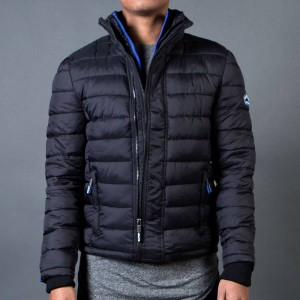 Superdry Men Fuji Triple Zip Through Jacket (black)