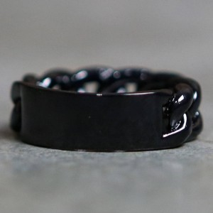 Mister ID Ring (black)