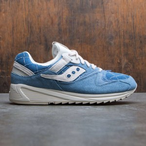Saucony Men Grid 8500 - Boro Pack (blue / washed denim)