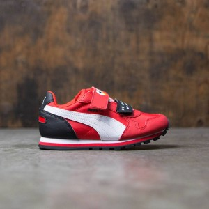 Puma x Sesame Street Little Kids ST Runner - Elmo (red / white)