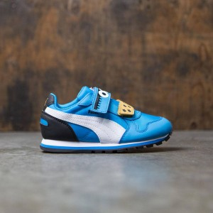 Puma x Sesame Street Little Kids ST Runner - Cookie Monster (blue)