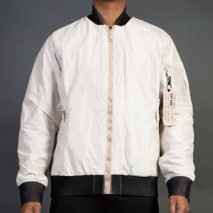 Adidas Consortium Day One Men Reversible Bomber Jacket (brown / clear brown / dust pearl)