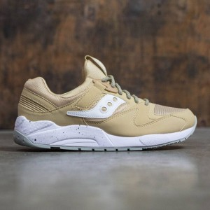 Saucony Men Grid 9000 (brown / wheat / white)
