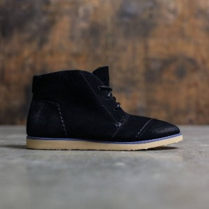 TOMS Women Mateo Chukka Boots (black / suede)