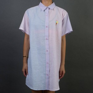 Lazy Oaf Women Sorbet Shirt (purple / blue)