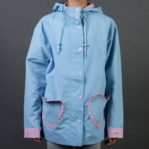 Lazy Oaf Women Feeling Blue Coat (blue)