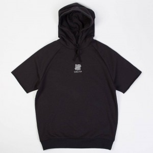 Undefeated Men UACTP Short Sleeve Pullover Hoody (black)