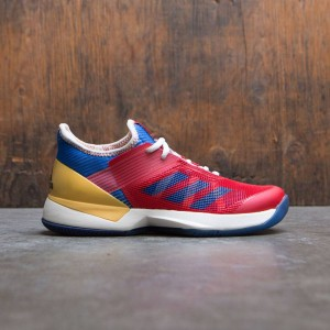 Adidas x Pharrell Williams Women Adizero Ubersonic 3 W (white / chalk white / dark blue / scarlet)