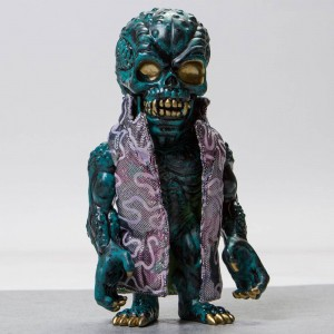 MINDstyle x Rob Prior SFBI Originals Renkon 8 Inch Sofubi Figure - BAIT Exclusive Limited Edition (green)