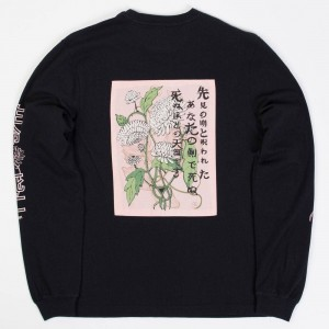 10 Deep Men Heaven's Gate Long Sleeve Tee (black)