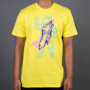 Billionaire Boys Club Men Mixed Tee (yellow)