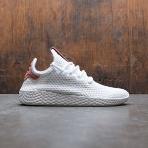 Adidas x Pharrell Williams Big Kids Tennis HU J (white / footwear white / raw pink)