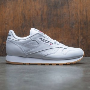 Reebok Men Classic Leather (white  / gum)