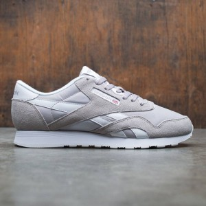 Reebok Men Classic Nylon (gray / whispher grey / white)