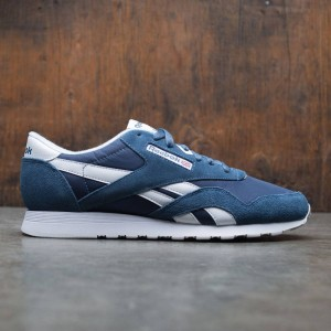 Reebok Men Classic Nylon (blue / brave blue / white)