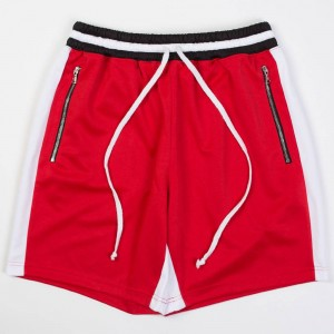 Lifted Anchors Men Track Shorts - BAIT Exclusive (red / black)