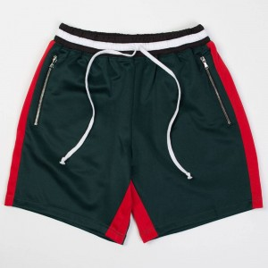 Lifted Anchors Men Track Shorts - BAIT Exclusive (green)