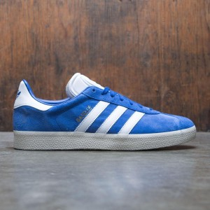 Adidas Men Gazelle (blue / collegiate royal / footwear white / cream white)