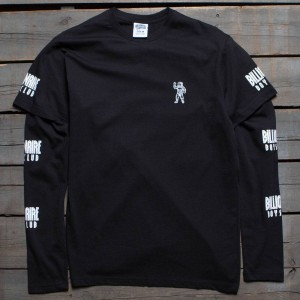 Billionaire Boys Club Men BB Layer LS Tee (black)