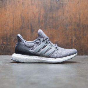 Adidas Big Kids UltraBOOST J (gray / grey three / grey four)