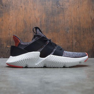 Adidas Men Prophere (black / core black / solar red)