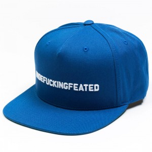 Undefeated UNDEFUCKINGFEATED Cap (blue/ darb)