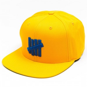Undefeated 5 Strike HO17 Cap (yellow)