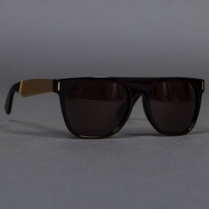Super Sunglasses Flat Top - Large (gold / francis)