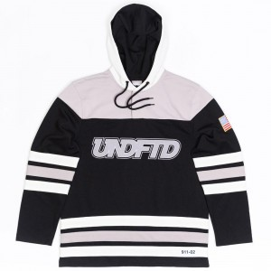 Undefeated Men Hockey Jersey (black)