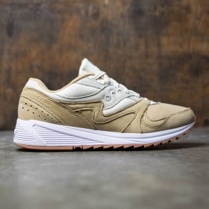 Saucony Men Grid 8000 (tan / light tan)
