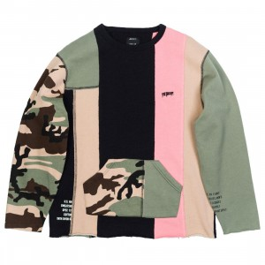 10 Deep Men Many Wars Crewneck Sweater (camo / multi)