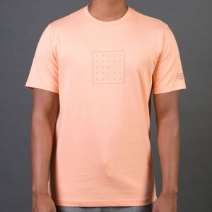 New Balance Men 247 Tee (orange / sunrise)