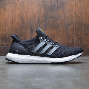 Adidas Men UltraBOOST LTD (black / iron metallic / vivid yellow)