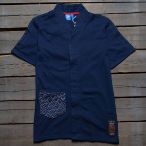 Adidas Men Budo Advanced Tee (navy / night indigo)