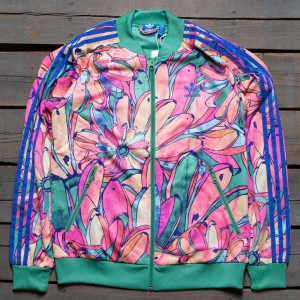 Adidas x FARM Women Bananas Supergirl Track Jacket (multi)