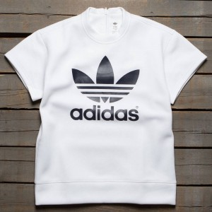 Adidas x HYKE Women HYKE Short Sleeve Sweatshirt (white)