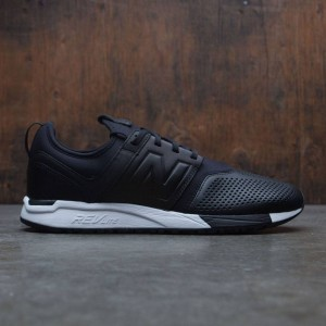 New Balance Men 247 Leather MRL247VE (black / white)