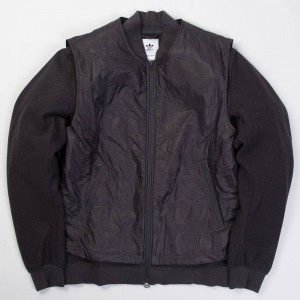 Adidas x Wings + Horns Men Bomber Jacket (black / utility black)