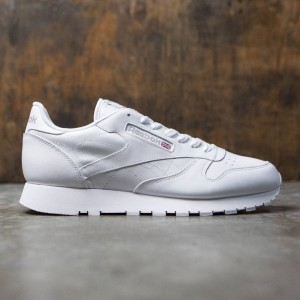 Reebok Men Classic Leather (white / lt gray)