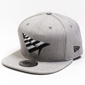 Paper Planes Old School The Crown Grey Boy Snapback (gray)