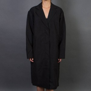 Stussy Women Pico Car Coat (black)